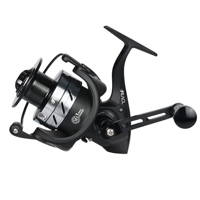 runcl spinning fishing reel grim i-4000 with cnc-machined spool, 10 precise stainless steel ball bearings, 1 roller bearing and anti-reverse lever