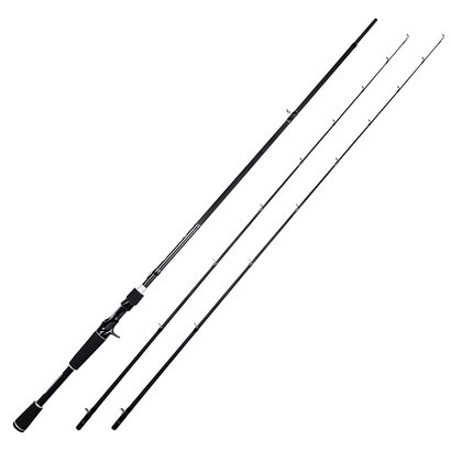 kastking perigee II fishing rods with two piece twin-tip rods and one piece rods fuji o-ring line guide, 24 ton carbon fiber casting and spinning rods