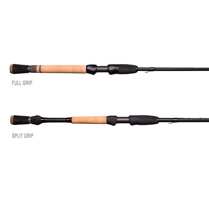 cr5 series fishing rod from cadence with 30 ton carbon, stainless steel guides with sic inserts, cork and eva handles