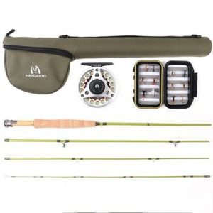 m maximumcatch maxcatch ultra-lite fly fishing rod complete set
