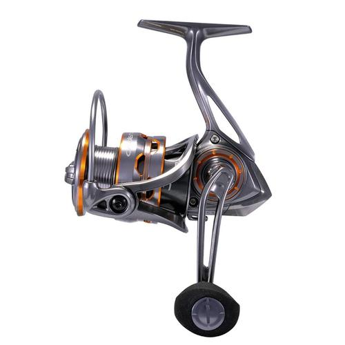 cadence cs8 fishing spinning reel with magnesium frame, machined aluminum spool and carbon fiber drag system