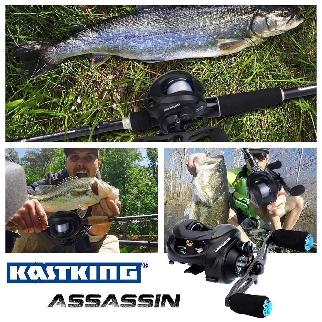 Kastking best spinning reel for bass
