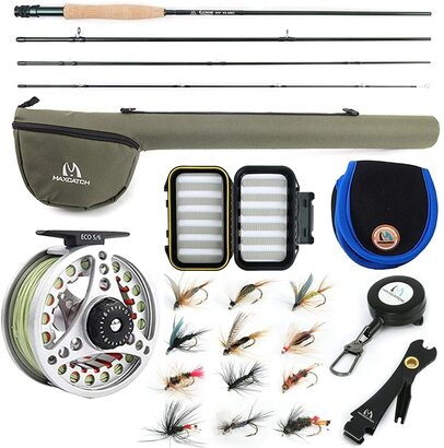 Maxcatch Extreme Fly Fishing Rod and Reel Complete Package