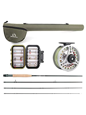 fly fishing rod and reel by maxcatch