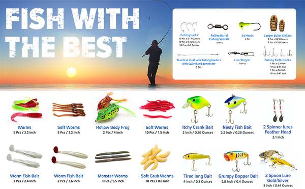 Catchmeister Fishing Lure Kit