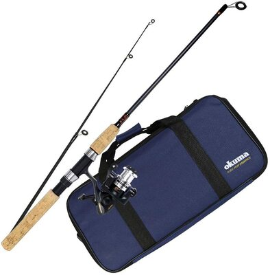 Okuma Voyager Travel Rod and Reel Combo
