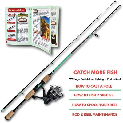Universal fishing rod and reel combo by tailored tackle